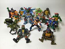 Lot Vintage Teenage Mutant Ninja Turtles TMNT Playmates 1990 Figure