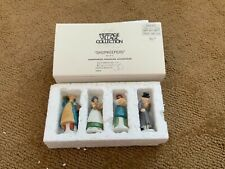 """Deptartment 56 Heritage Village Collection """"Shopkeepers"""" #5966-8 - Set Of 4"""