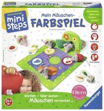 Ravensburger Kinder Lernen Ministeps Mein Mäuschen Farbspiel Lernspiele