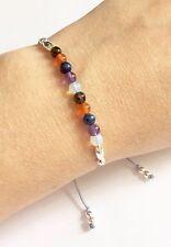 Just Gemstones Menopause Healing Balance Reki Bracelet - Adjustable