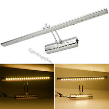 ON/OFF Button Modern Bathroom Wall Light 7W LED Warm White Mirror-Front Lamp Lit