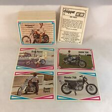 STREET CHOPPER HOT BIKE Trading Cards from 1972 Complete ALL 66 Card Set