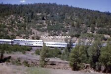 Santa Fe Vista Dome and other passenger cars in action Ca August 1967 18