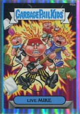Garbage Pail Kids Chrome Series 2 Refractor Returning Card R6b Live Mike