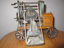 Antique Kenton Jaeger Cement Mixer Vintage Farm Toy Cast Iron