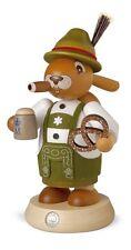 Mueller Traditional German Smoker Rauchermann Bavarian Easter Bunny Rabbit