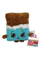 "Authentic NWT 7"" Plush Shopkins - Cheeky Chocolate Candy Bar Soft Doll Toy Game"