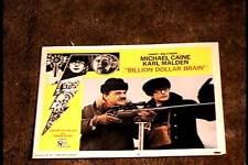 BILLION DOLLAR BRAIN 1967 LOBBY CARD #6 MICHAEL CAINE KARL MALDEN