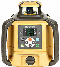 Topcon RL-SV2S Dual Slope Self-Leveling Rotary Laser Level Alkaline DB Model