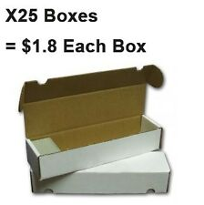X 25 Ultra Pro Cardboard Cards Storage Boxes 800 count | Yugioh Pokemon Sports