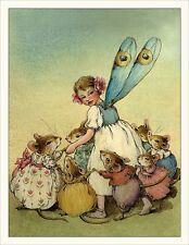 Wee Forest Folk Note-2 Fairy Note Card Set of 6