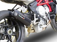 SILENCIEUX GPR FURORE LOOK CARBONE MV AGUSTA BRUTALE 800 / RR / DRAGSTER 2013/15