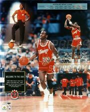 Michael Jordan Chicago Bulls rookie stat line  8x10 11x14 16x20 photo 449