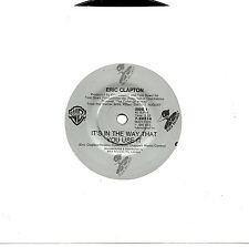 """ERIC CLAPTON - IT'S IN THE WAY THAT YOU USE IT - 7"""" 45 VINYL RECORD 1986"""