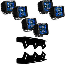 RIGID LED Fog Light Kit Radiance BLUE Back Light for 17 18 Ford F150 Raptor