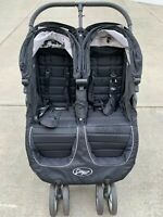 Baby Jogger City Mini 2 Double Stroller Model Black Great Condition Local Pickup
