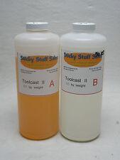 """Professional """"TOOLCAST 2"""" liquid urethane plastic for casting*paintable* 2quart"""