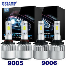 OSLAMP 9005+9006 4PCS LED 1520W 182400LM Combo Headlight High + Low Beam 6K Kit