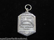 1937 PET SHOW Medallion Medal ELLIN PRINCE SPEYER HOSPITAL FOR ANIMALS