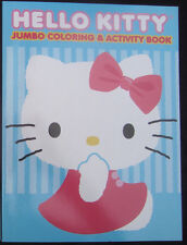 HELLO KITTY Activity & Coloring Book Sticker book with Confetti Stickers LOT NEW