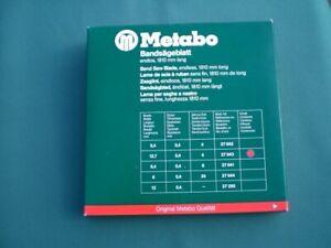 6 Metabo Bandsägeblätter endlos, 1810 mm lang, Best-Nr. 27642 und 27643, NEU
