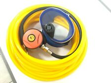 Scuba Snorkeling Diving 2nd Stage Respirator + 50/100 ft Hose Kit 145Psi M10*1