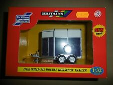 Britains 1:32 Ifor Williams Double Horsebox Trailer No 40711