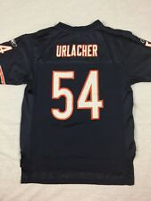 VTG NFL Chicago Bears Brian Urlacher Reebok On Field #54 Jersey Sz Youth Large
