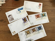 Israel First Day covers x 5