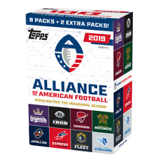 Topps 2019 Alliance of American Football Cards - 100 Pieces