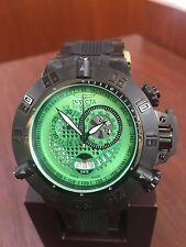 Invicta 6237 Subaqua Noma III Collection Chronograph Men's Watch Green Dial