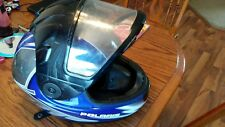POLARIS FXR SNOWMOBILE ATV MOTORCYCLE HELMET w/ Cold Weather Mask Size XLARGE
