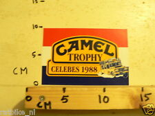 STICKER,DECAL CAMEL TROPHY 88 CELEBES 1988