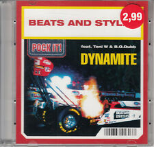 "Beats And Styles - Dynamite (3"") Mini Pock it CD 2004 Electronic Electro"