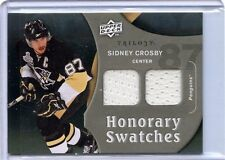 2009/10 UD TRILOGY SIDNEY CROSBY GAME/USED HS/SC