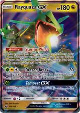 Pokemon SM - Celestial Storm Rayquaza GX #109 Ultra Rare Holofoil - Near Mint