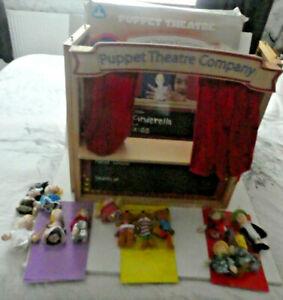 ELC HAPPYLAND PUPPET THEATRE,  GOLDILOCKS, 3 BEARS CARDS - BUNDLE - BOXED