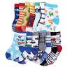 14 paires anti-dérapant chaussettes pr tout-petits bébé enfants 1-3ans coton B7