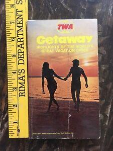 VINTAGE 1971 TWA GETAWAY VACATION BOOK