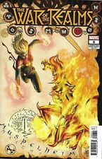 War Of The Realms Comic Issue 6 Limited Variant Modern Age First Print 2019