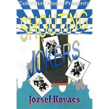 Shouting Jokers by Wild-Colombini Magic - Trucchi con le carte - Giochi di Magia