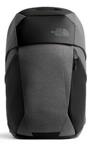 New $199 The North Face Access 02 TNF Black/Dark Grey Heather Backpack in 25L