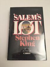 Stephen King Salem's Lot Early Edition Book 1975 Hardcover DoubleDay Beautiful!