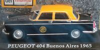Peugeot 404 Argentina Taxi 1965 Taxi Collection Rare Diecast 1:43 New