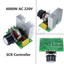 Aire Acondicionado 0-220V 3800W SCR Regulador De Voltaje atenuación atenuadores Termostato de control de velocidad
