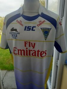 Warrington Wolves,Australian Tour 2012 Shirt  Size L Adult