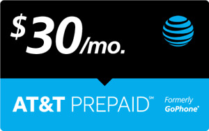 $30 AT&T PREPAID REFILL DIRECT to PHONE GET IT TODAY! 🔥 IF PAY BEFORE 11 PM ET
