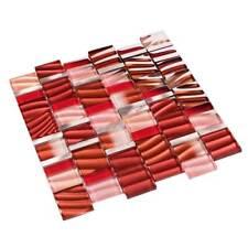 mosaïque céramique Metall Mosaik aluminium équerre Mosaïque Rouge