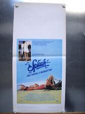 Splash Una sirena a Manhattan Locandina Poster Ron Howard Daryl Hannah Tom Hanks