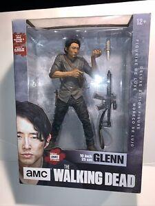 """The Walking Dead amc TV Show 10"""" Glenn Deluxe Action Figure McFarlane 2016"""